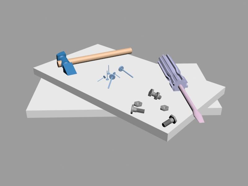 Estanteria i eines