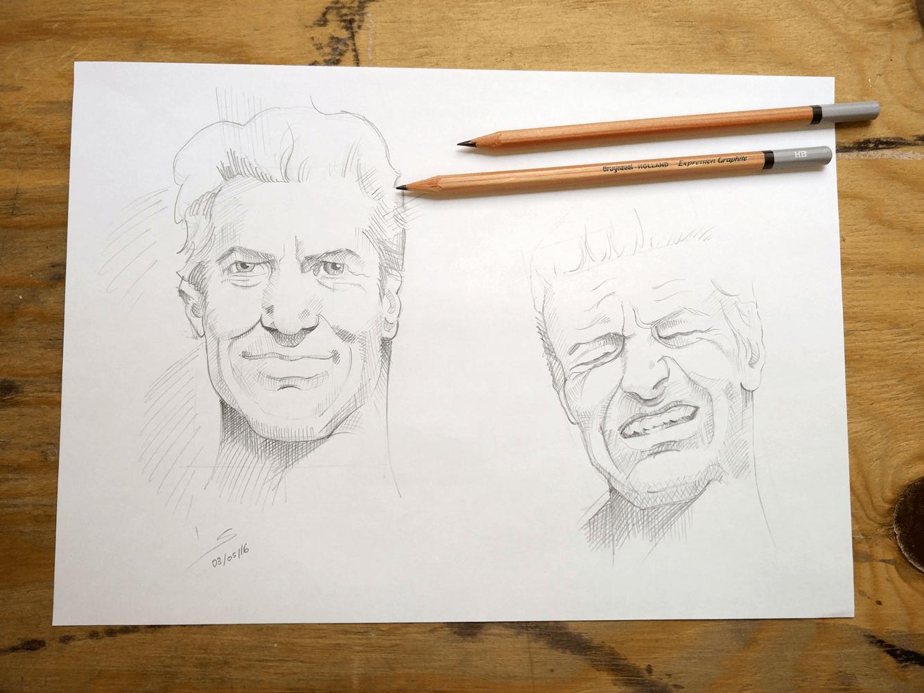 dibuix llapis home