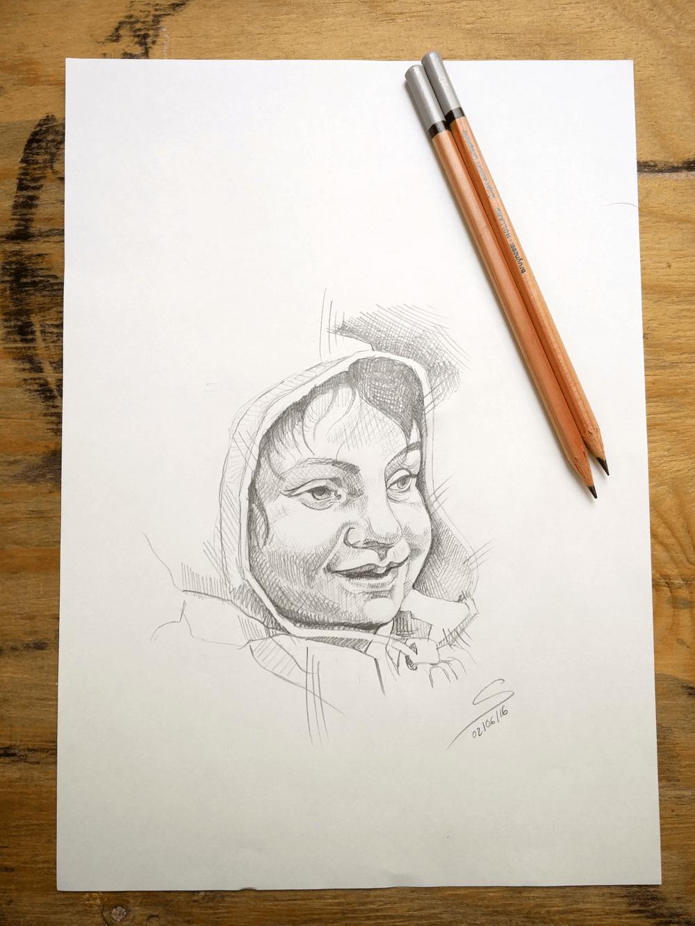 dibuix llapis nen