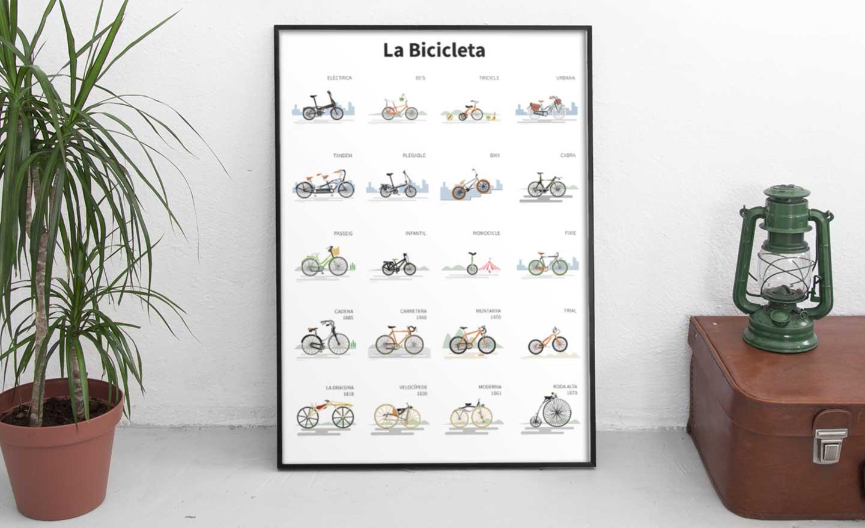 La bicicleta | rosasunba