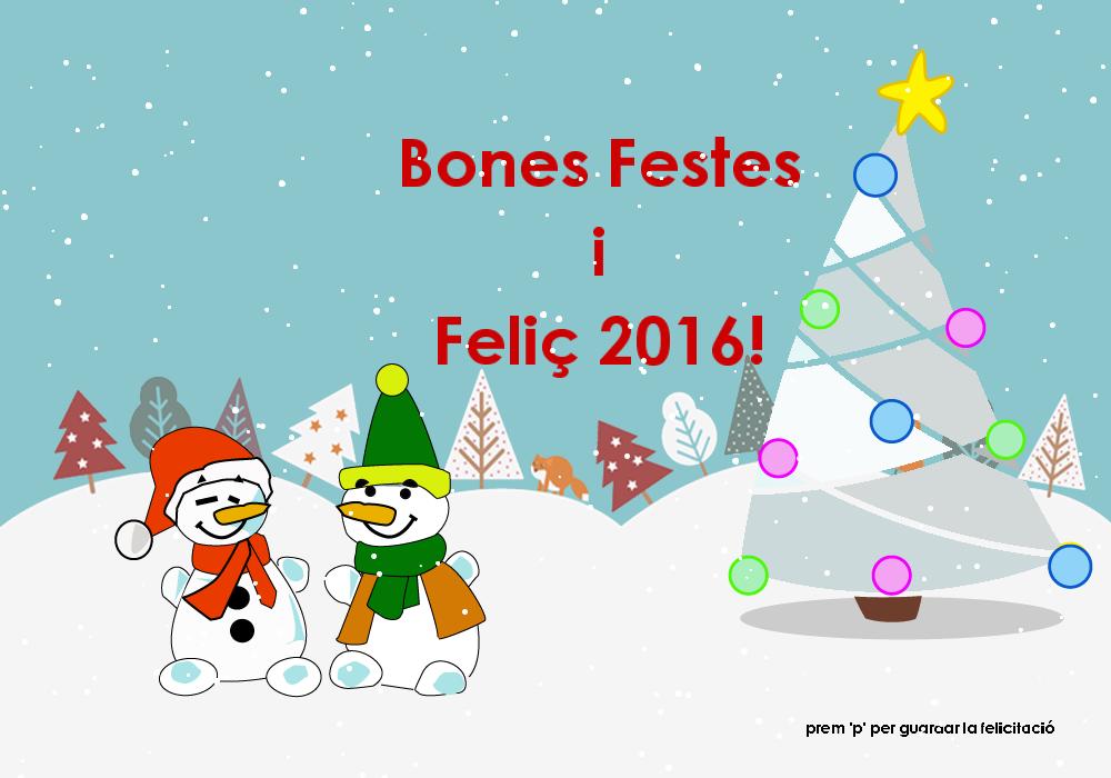 portada postal de nadal IDC rosasunba
